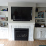 After Fireplace Mantle