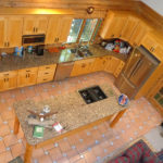 Kitchen Aerial View