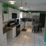 Kitchen Renovation With Tile Floors
