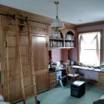 Oak Built In Cabinets